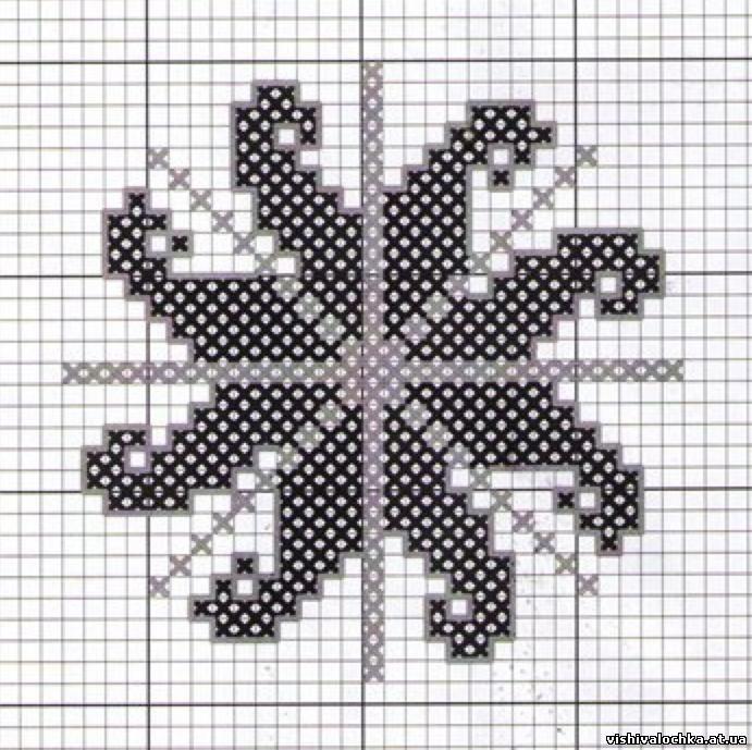 Ладинец схема для вышивки 831